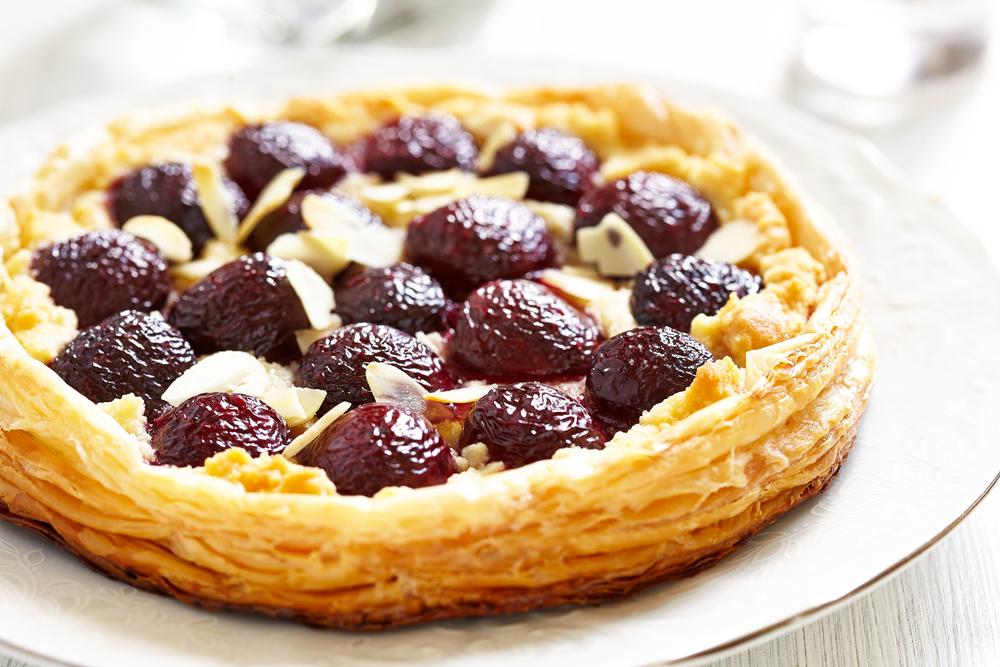 Cherry and Almond Tart
