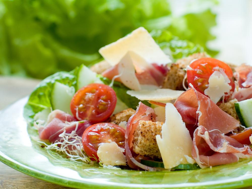 Ham and Arugala Salad