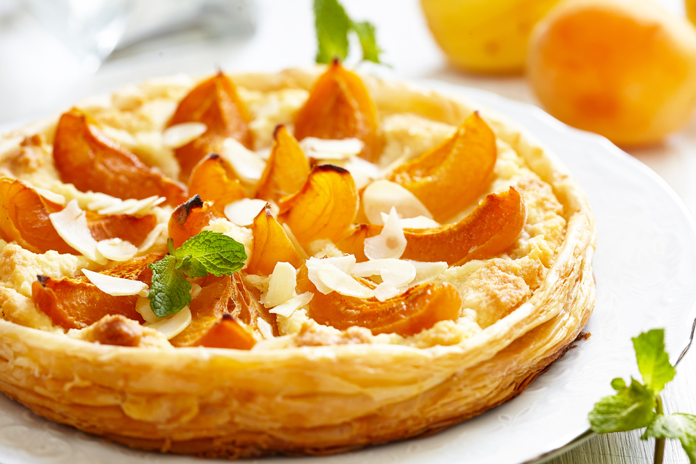 Apricot and Almond Tart