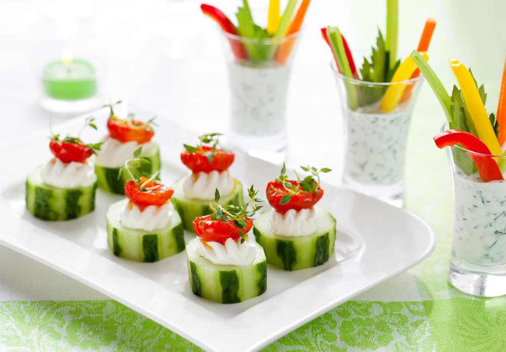 Quick Cucumber Appetizers