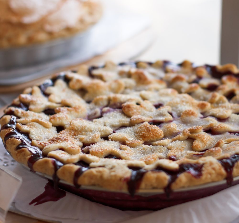 Country Blueberry Pie