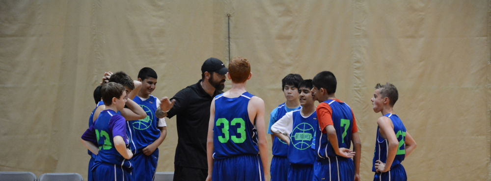 Mike taking over for Matt with U13 boys at tournament in July