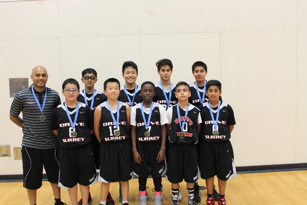Drive Surrey JR Varsity 3 Ballapalooza Champions in Abbotsford May 29, 30, 31