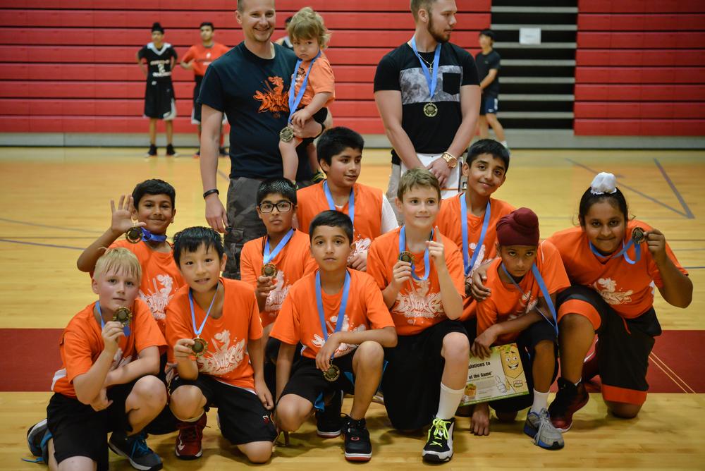 Thunder Freshman Ballapallooza Champions 2015