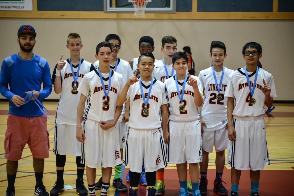 AthElite Vancouver Select Junior Varsity 1 Ballapalooza Champions 2015