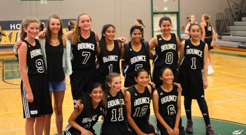 Grade 7 and Grade 8 Team in Portland End of the Trail Tournament - July long weekend