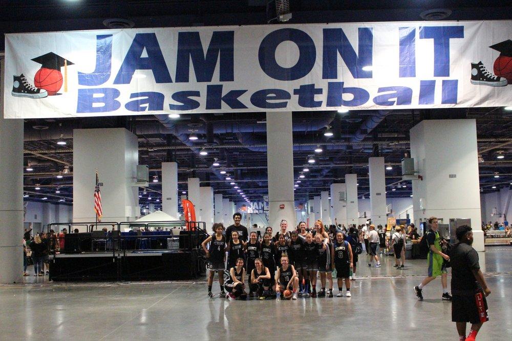 U 13 and U16 Girls in Las Vegas Jam On It Tournament - 2018