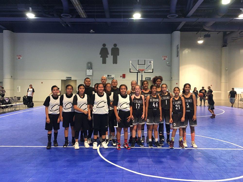 U13 Girls in Los Vegas - 2018 - Jam On It Tournament