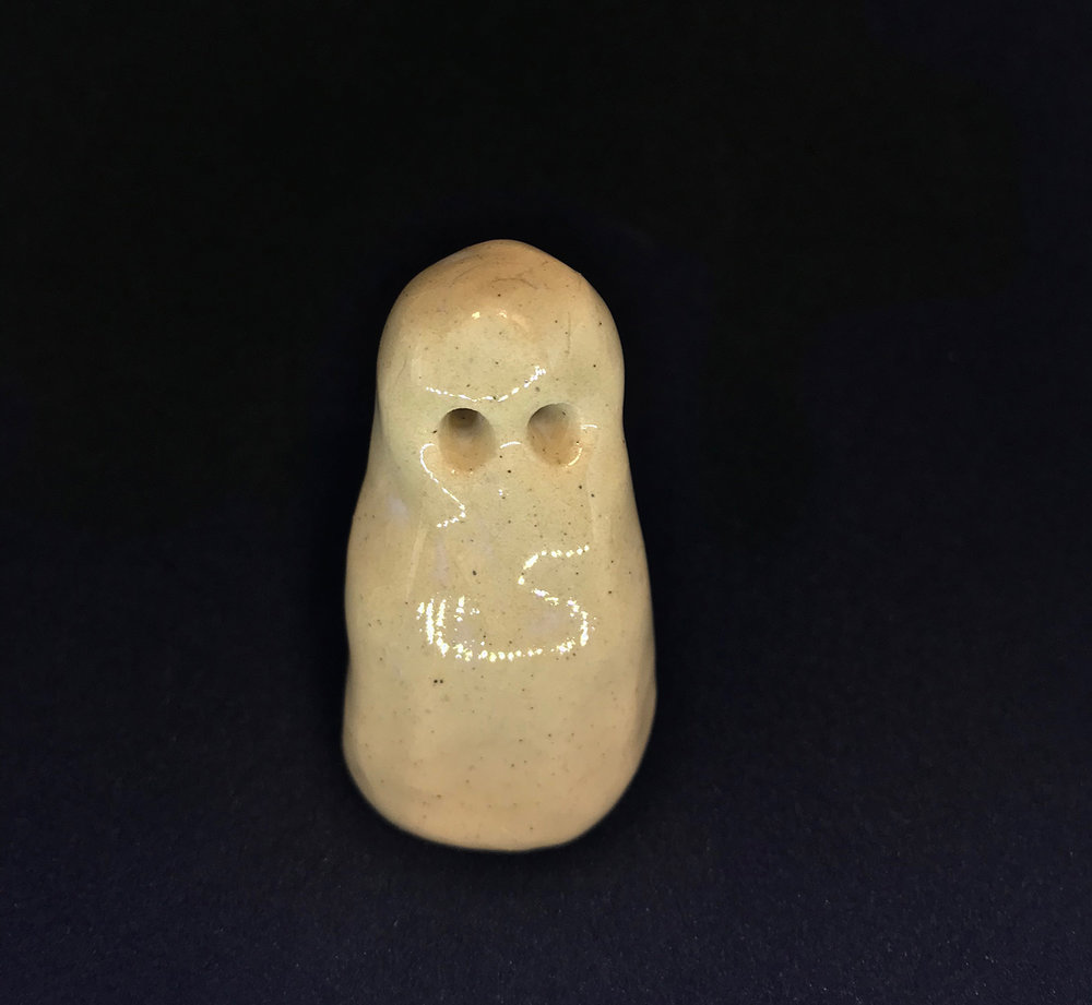 """ghost(ed)"" ceramic, 2012"