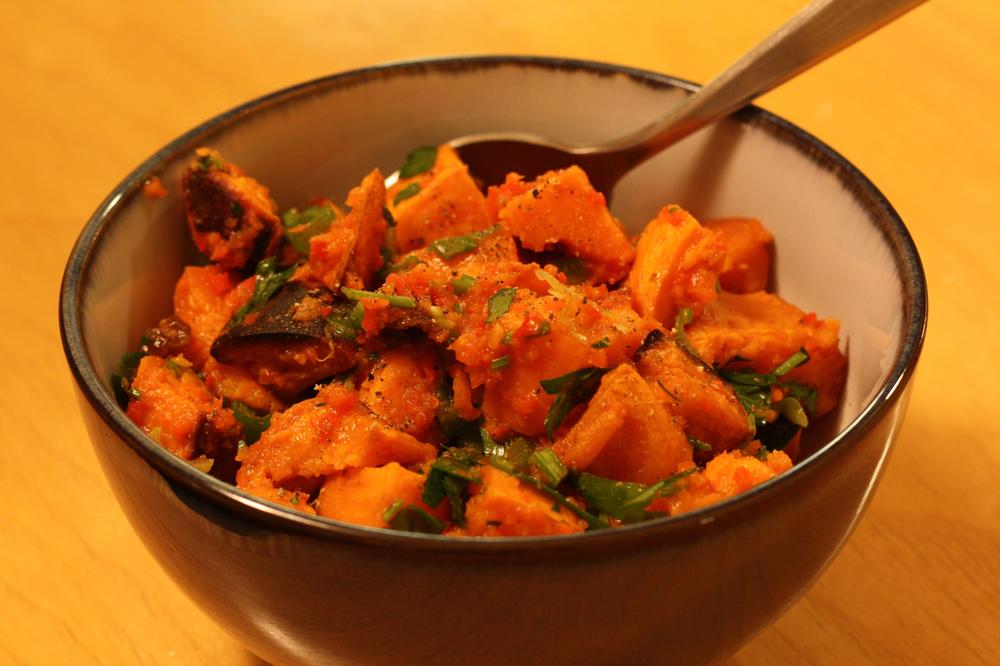 Cold Sweet Potato Salad (Paleo) — SKINNY FAT KIDS