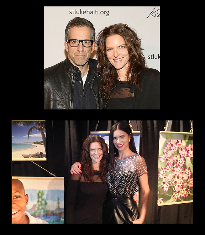 Supporters Kenneth Cole & Adriana Lima