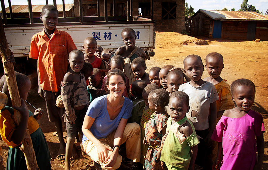Uganda, 2011 with the  Grameen Foundation .