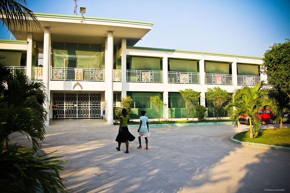 St. Luke Foundation  and Hospital, Port Au Prince, Haiti.  Opus  Award-winning St. Luke includes medical care, orphanages, a school, cholera ward, and production facilities.