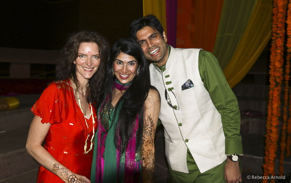 Rebecca Arnold, Sarina Jain and Rajat Jain. We put this album together for fun. To show the wedding, and a little of Rebecca's 3 week trip to India.