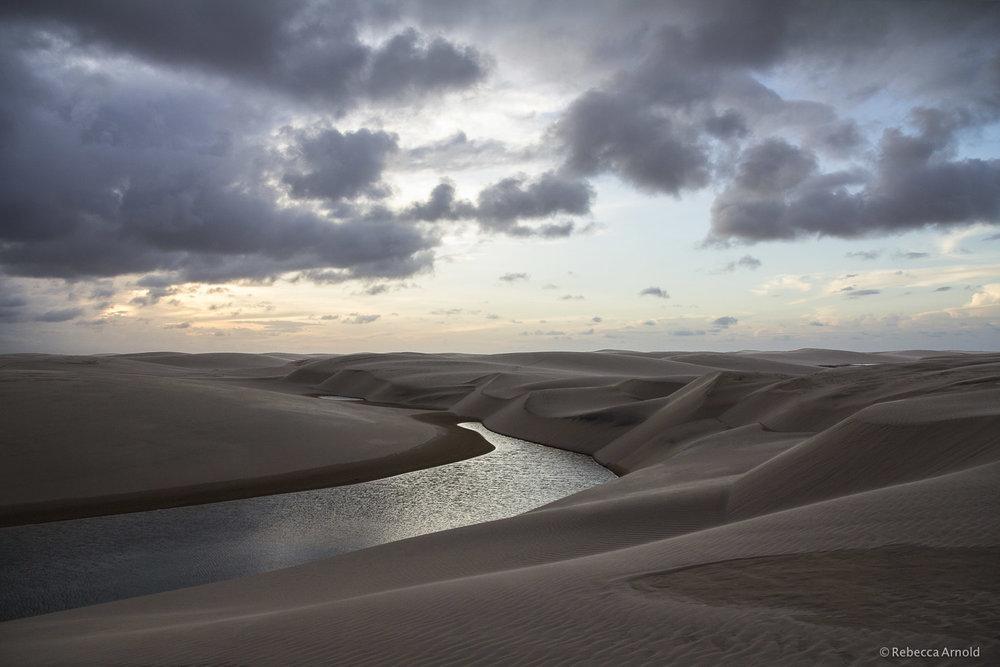 Sunset Dune Lagoon, Brazil