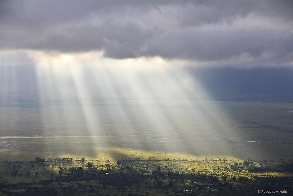 Ngorongoro Sun Rays, Tanzania
