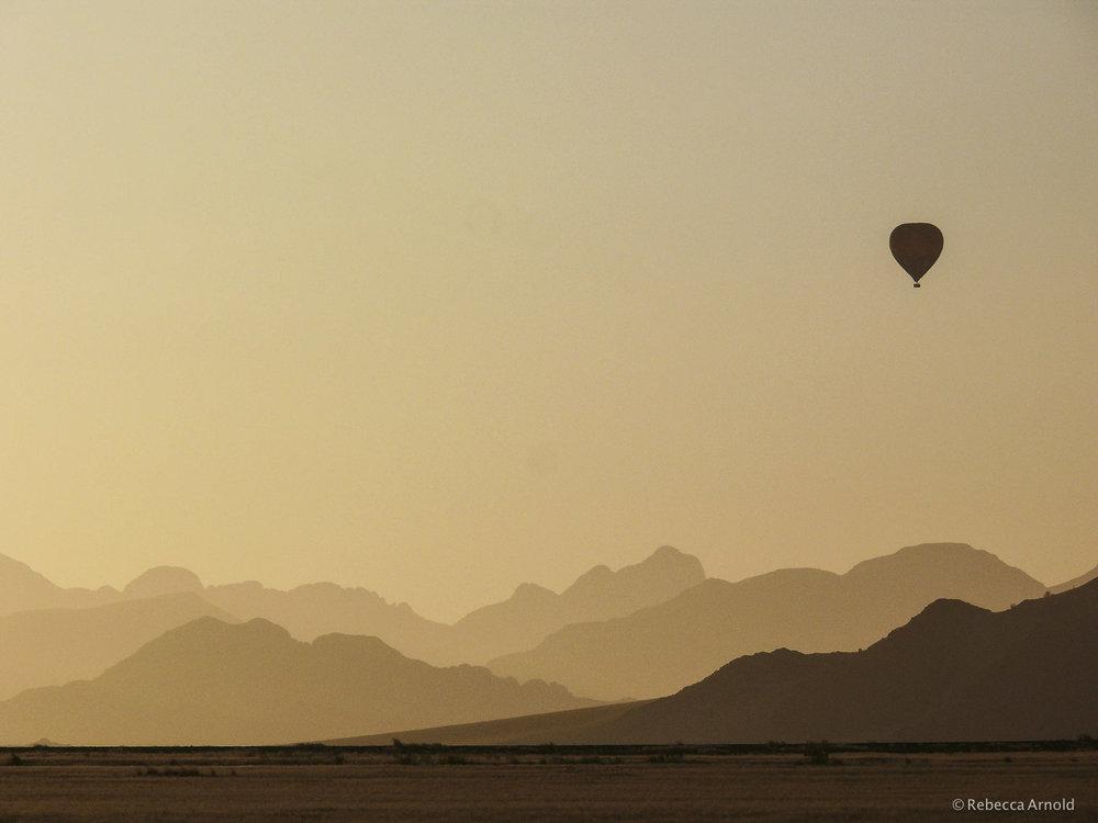 Sunrise Flight, Kalahari Desert, Namibia