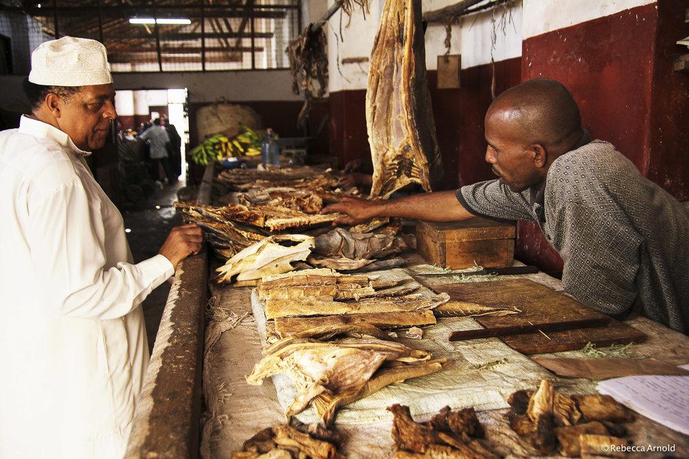 "Dried Fish Market, Kenya 2011   16"" x 24"" | 24"" x 36"" | Custom Sizes  Archival Pigment Prints  Edition: 150"