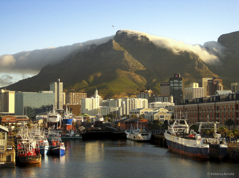 Cape Town Harbor, South Africa 2007