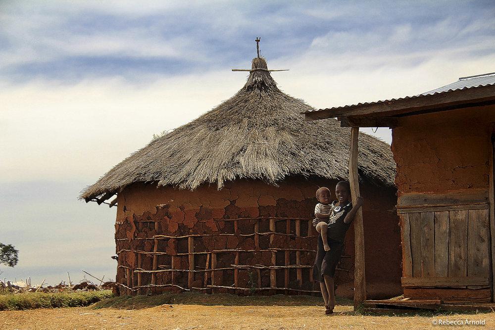 "Kapkwata Home, Uganda 2011   16"" x 24"" | 24"" x 36"" | Custom Sizes  Archival Pigment Prints  Edition: 150"