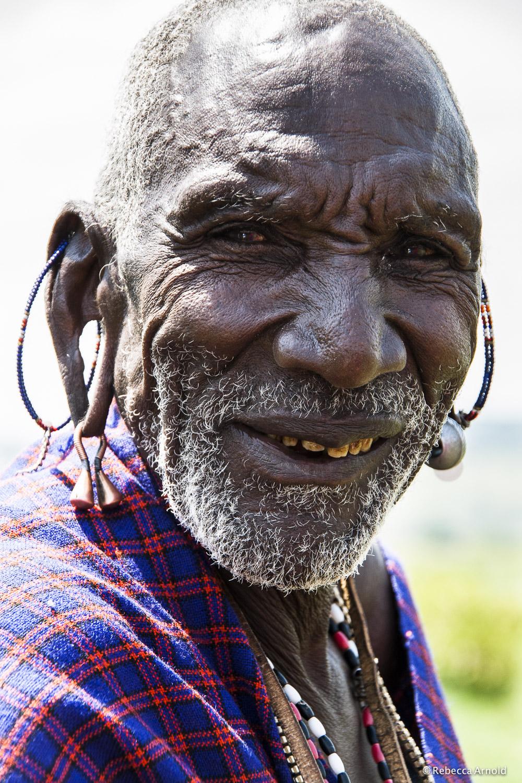 "Maasai Elder, Kenya 2007   16"" x 24"" | 24"" x 36"" | Custom Sizes  Archival Pigment Prints  Edition: 150"