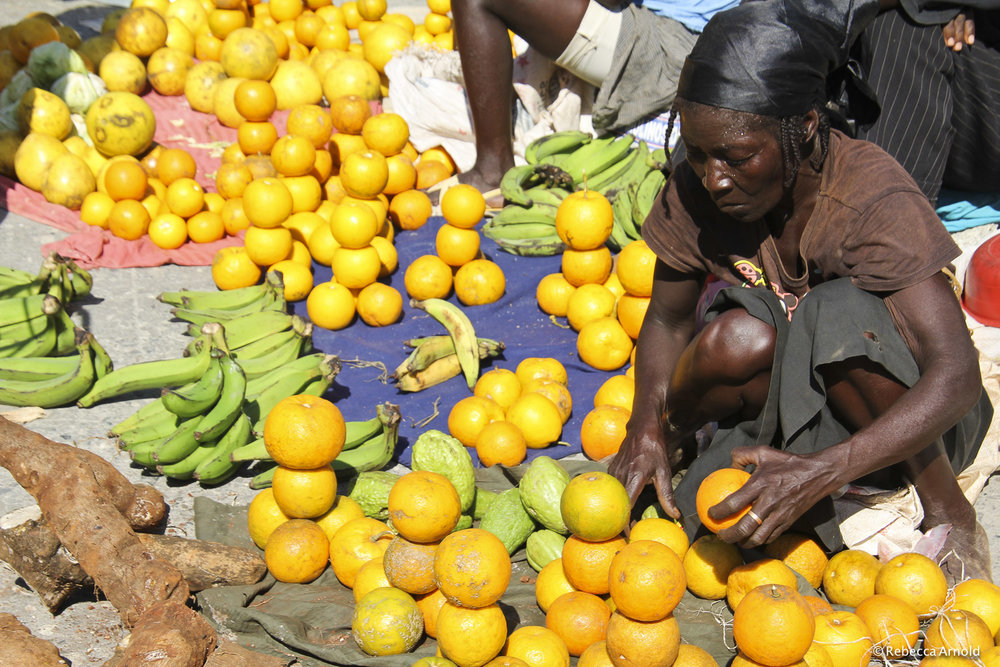 "Sunday Market, Haiti 2012   16"" x 24"" | 24"" x 36"" | Custom Sizes  Archival Pigment Prints  Edition: 150"
