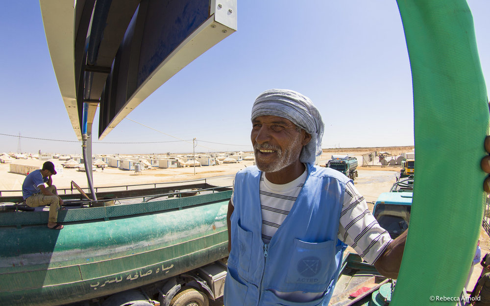 WASH, UNICEF Water Program, Zaatari, Jordan