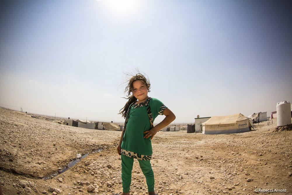 Charisma Girl, Zaatari, Jordan