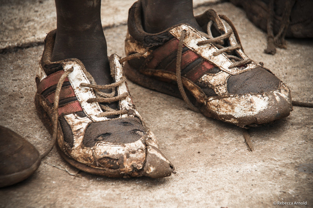 Orphan Shoes, Kenya
