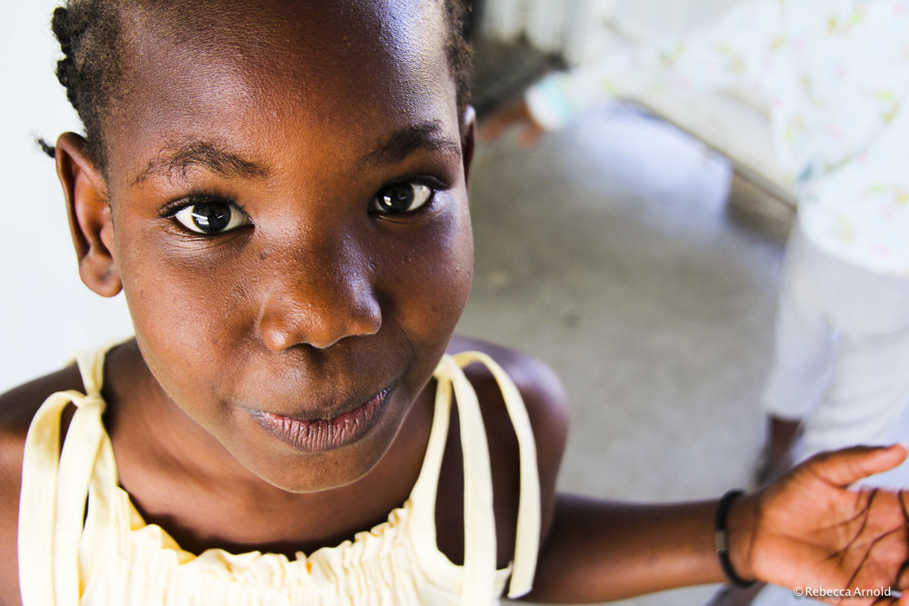 Happy Girl, St. Luke Orphanage, Haiti