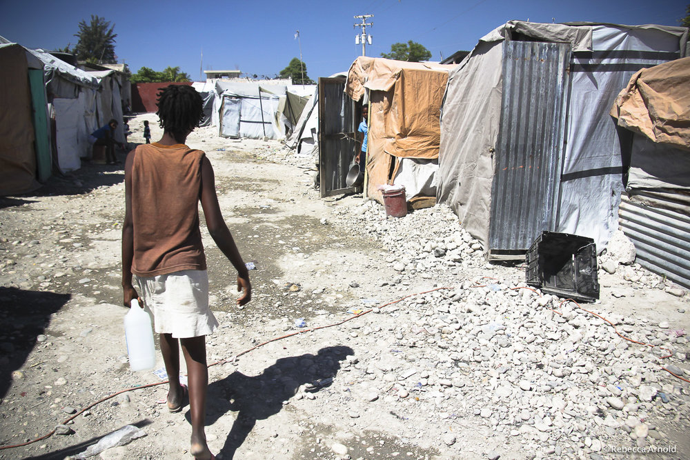 Earthquake Shanty Town, Haiti