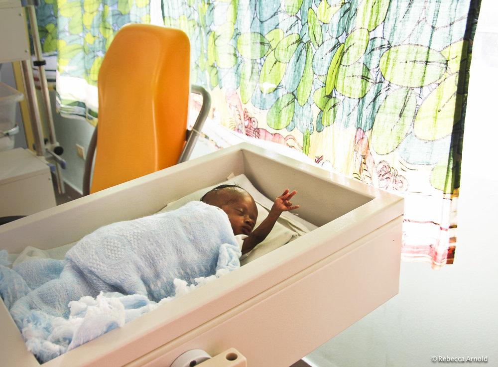Baby's Reach, Haiti