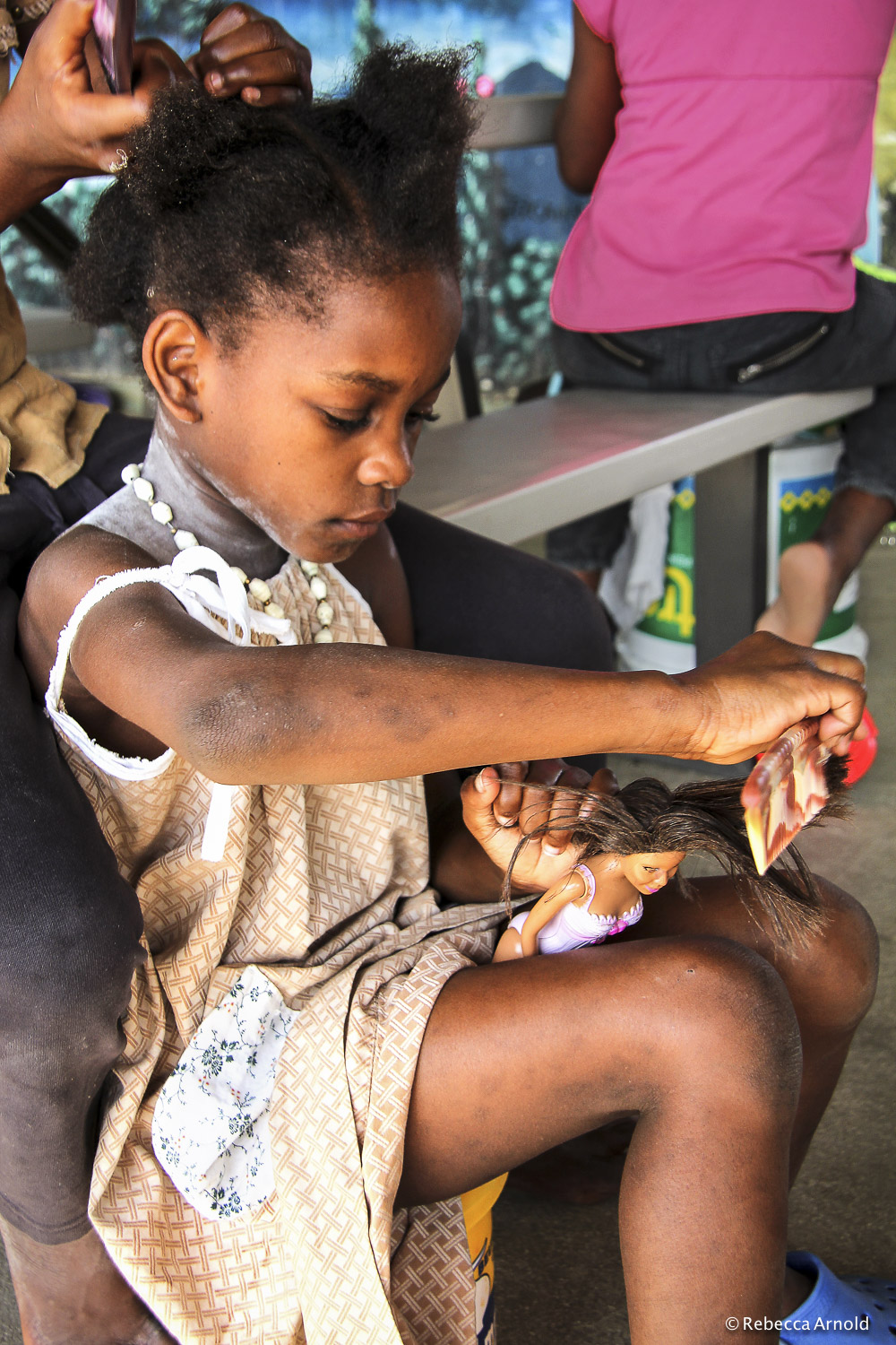 Hair Salon, St. Luke Orphanage, Haiti