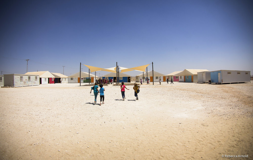 Being Kids, Zaatari, Jordan