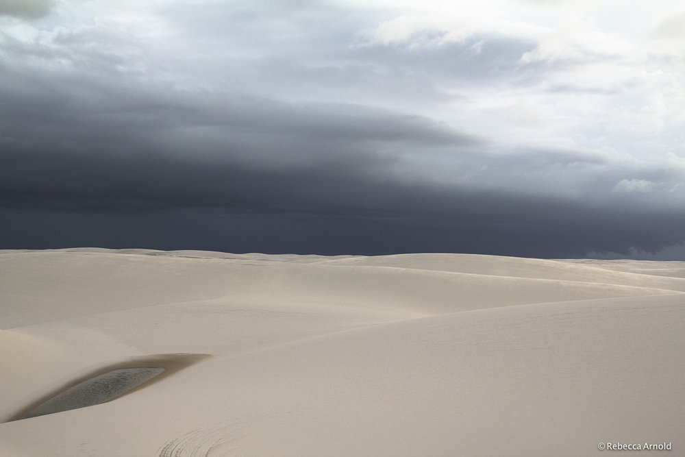 "Gentle Sands, Brazil 2013  16"" x 24"" 