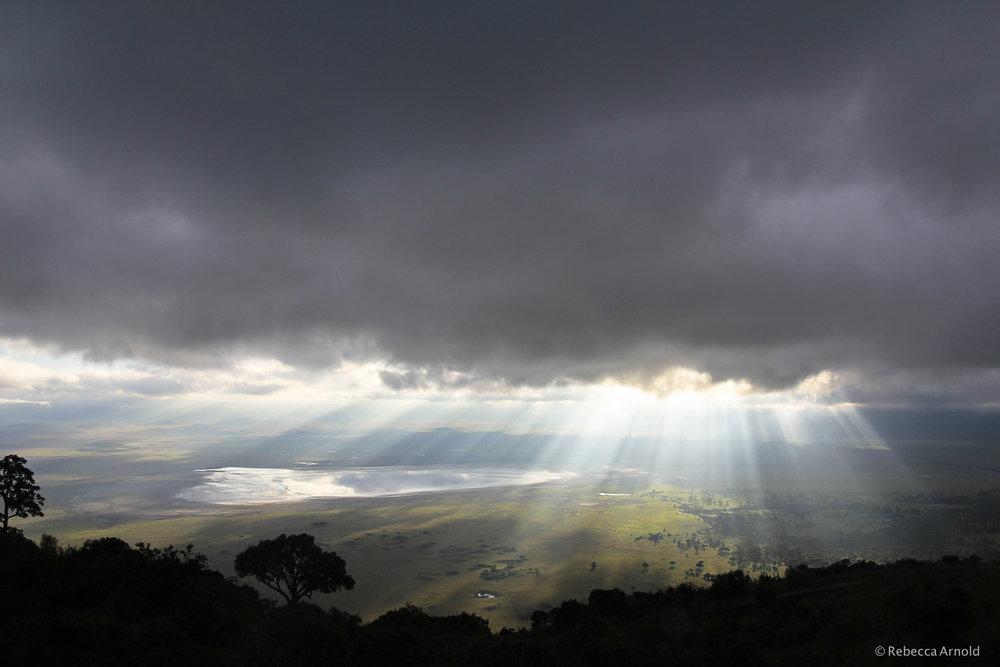 Ngorongoro Sun Break, Tanzania
