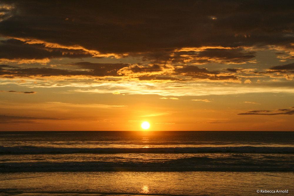 20. Naranja Sunset, Nicaragua 2009