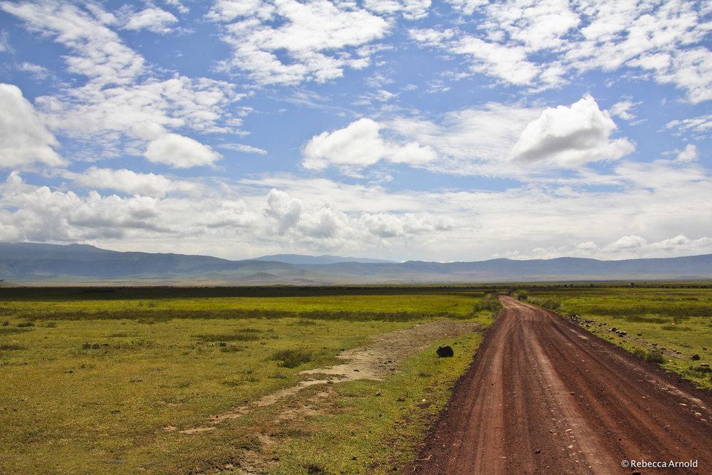 38. Savannah Skies, Ngorongoro Crater, Tanzania 2011