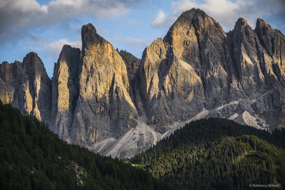 "Dolomiti Giganti, Italy,  2017  16"" x 24"" 