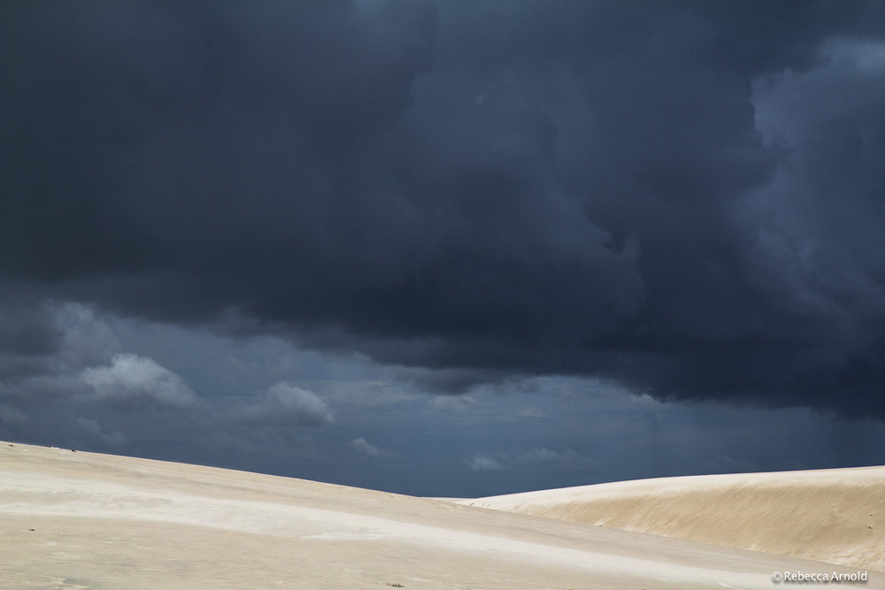 "Storm Over Symmetry, Brazil 2013  16"" x 24"" 