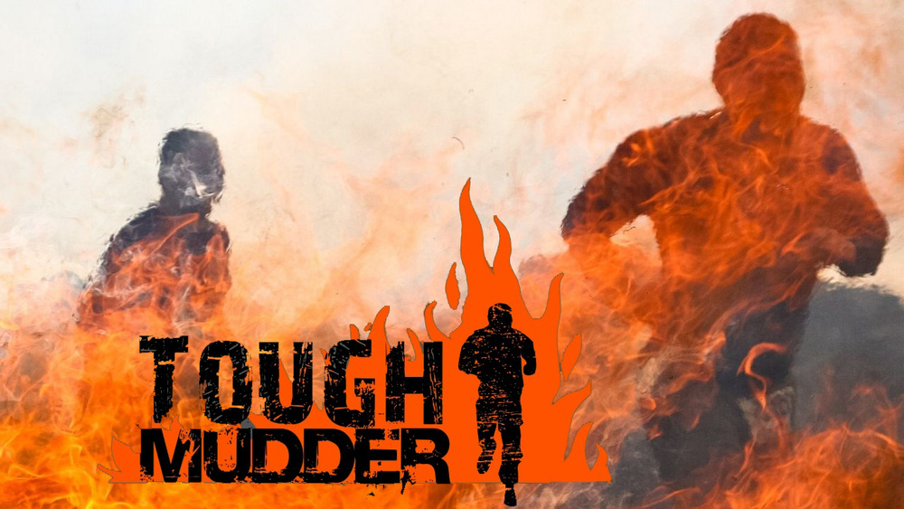 The Tough Mudder event is a hardcore 10-12 mile (18-20 km) obstacle course challenge designed to test your all-around strength, stamina, mental grit and camaraderie.