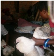 """Musonda said this on receiving the chicken, """"God is merciful."""" """"I did not know that I will eat today but He has provided to me through Christian Aid Ministries."""""""