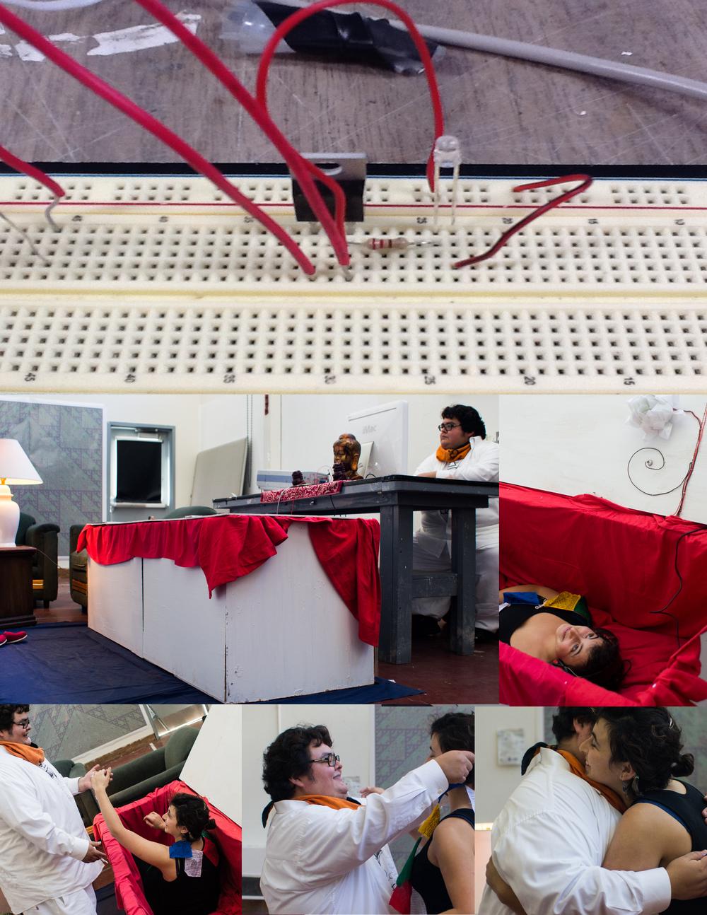 The Bardo Parlor 2012 DevArtPerformance Installation