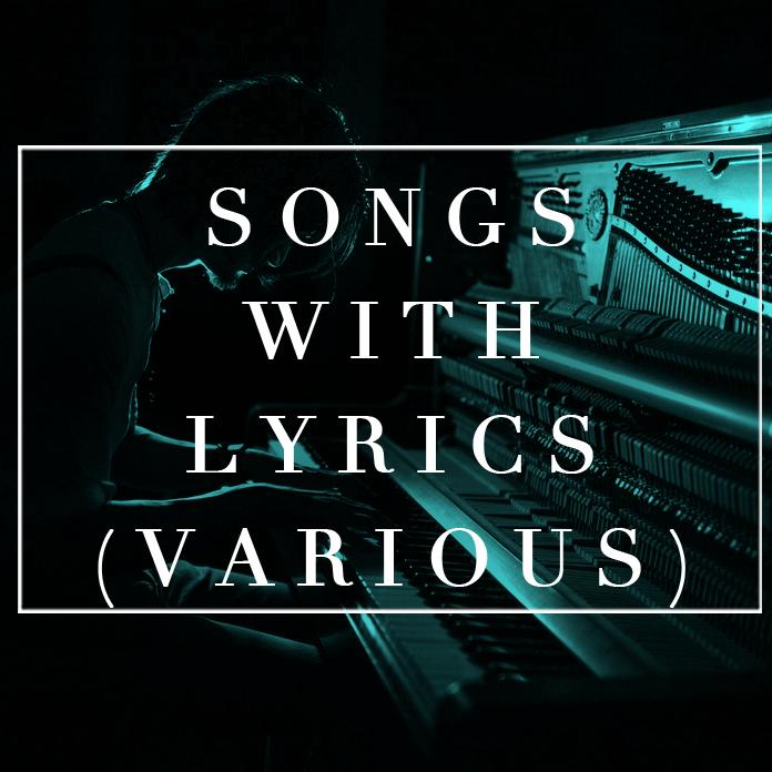 songs with lyrics various.jpg