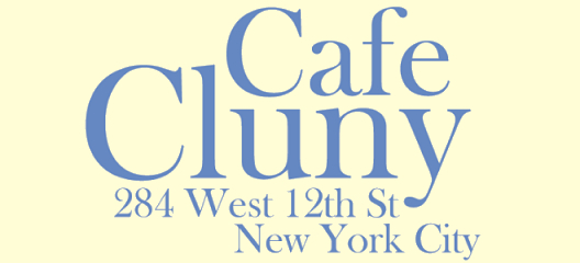 West Village Cafe Cluny