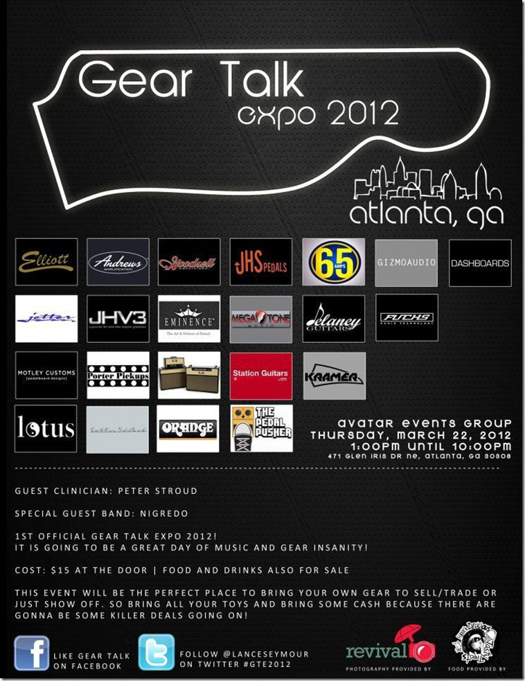 Gear Talk Expo 2012 Ad