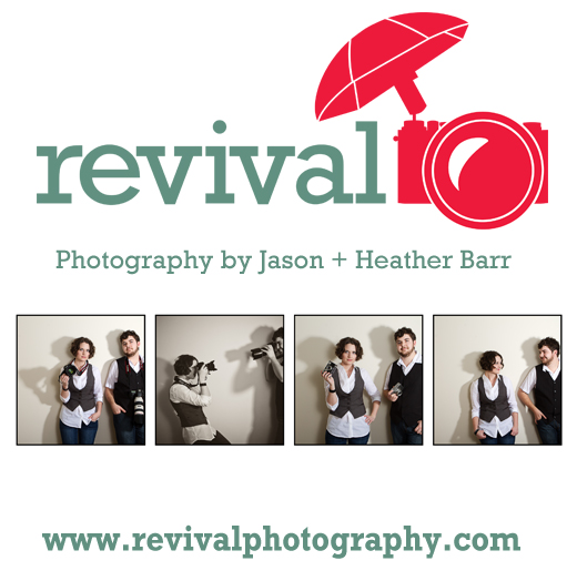 Revival Photography - Husband and wife team, Jason and Heather Barr. Newton, NC