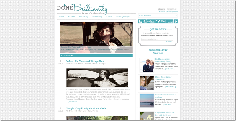 Revival Photography as Featured on Done Brilliantly