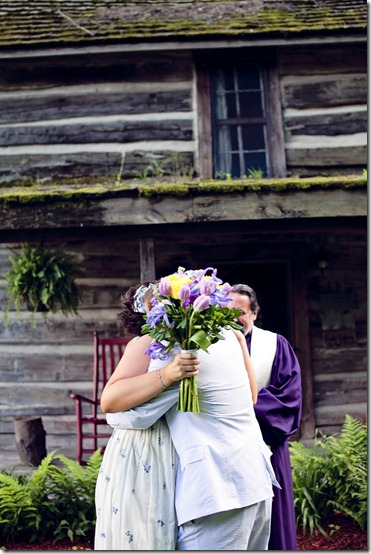An elopement at The Mast Farm Inn. Photos by Revival Photography