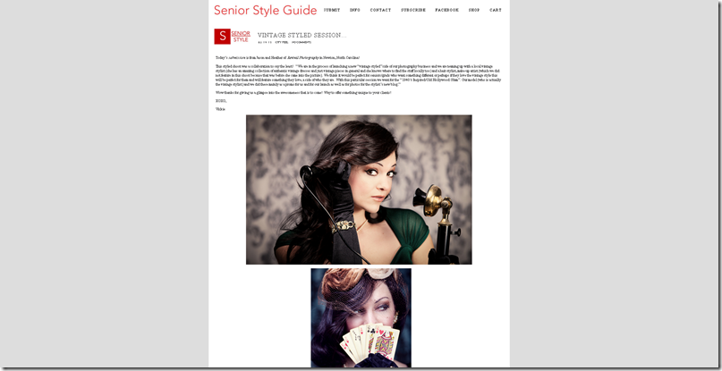 Revival Photography as featured on Senior Style Guide